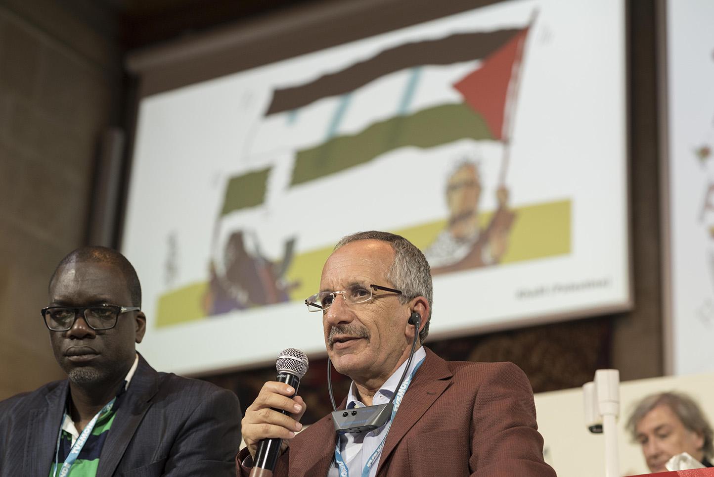 Zohoré (Côte d'Ivoire) et Khalil (Palestine) – © Andreina Mujica