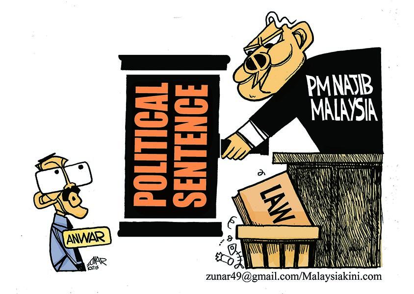 Sentence politique, par Zunar