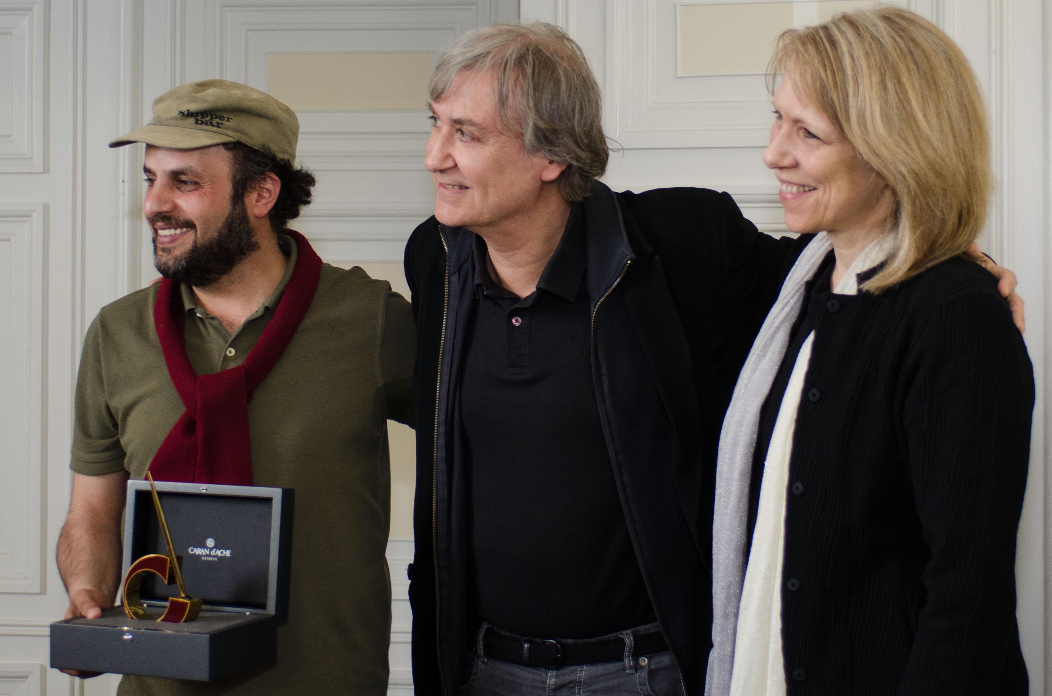 Hani Abbas, Plantu and Liza Donnelly