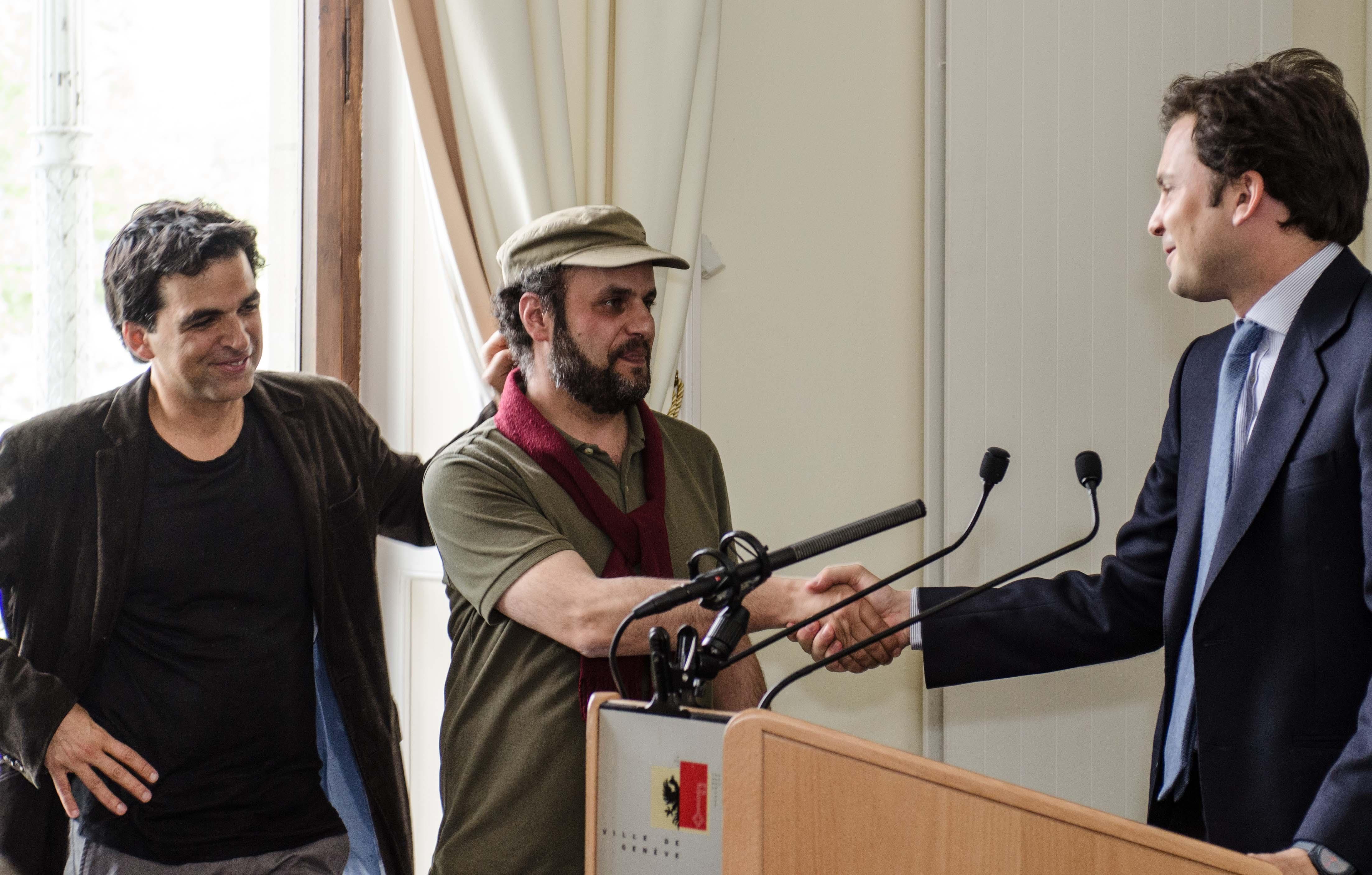 Chappatte et Hani Abbas