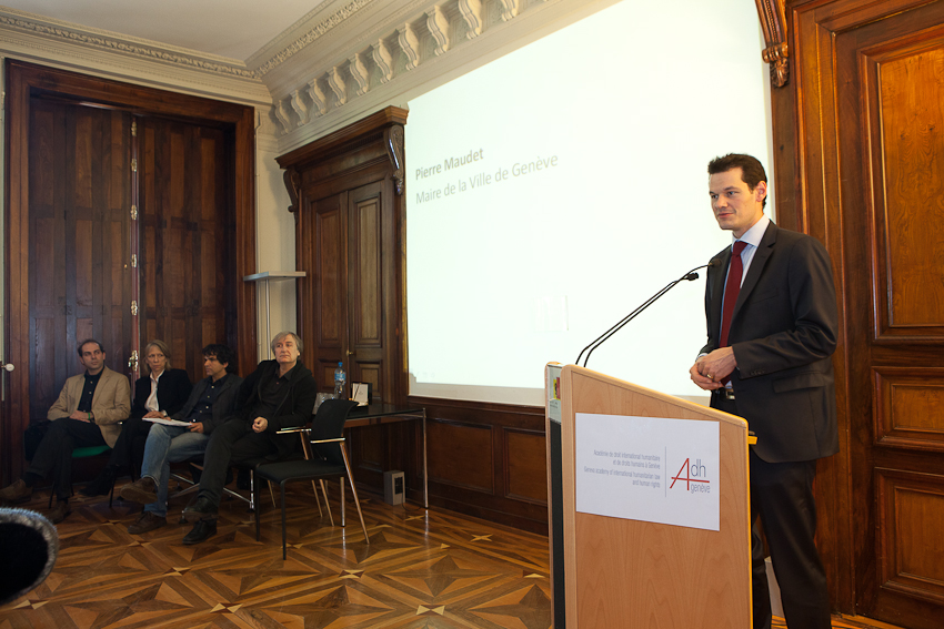 Discours de Pierre Maudet, maire de Genève