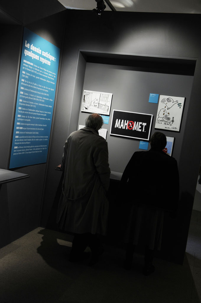 Expo Permis de croquer, un tour du monde du dessin de presse.