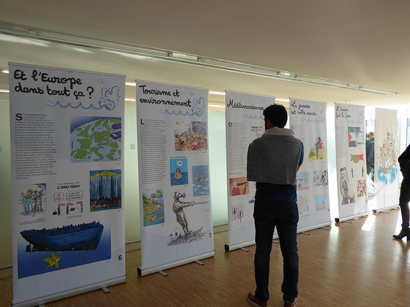 """Draw me the Mediterranean"" Exhibition Presentation at Villa Mediterranée on November 10"