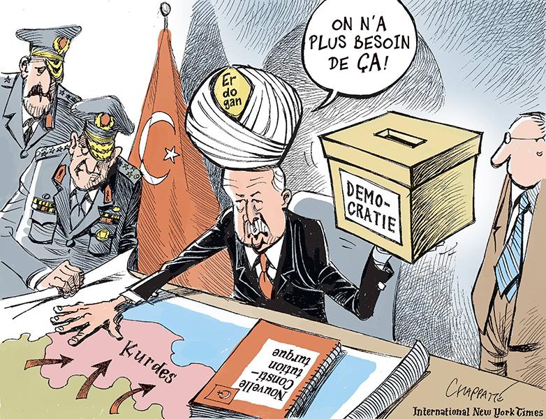 Turquie : victoire écrasante pour Erdogan - Cartooning for Peace