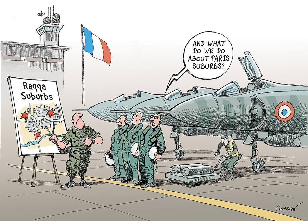 "Chappatte (Switzerland) – published in ""Le Temps"""