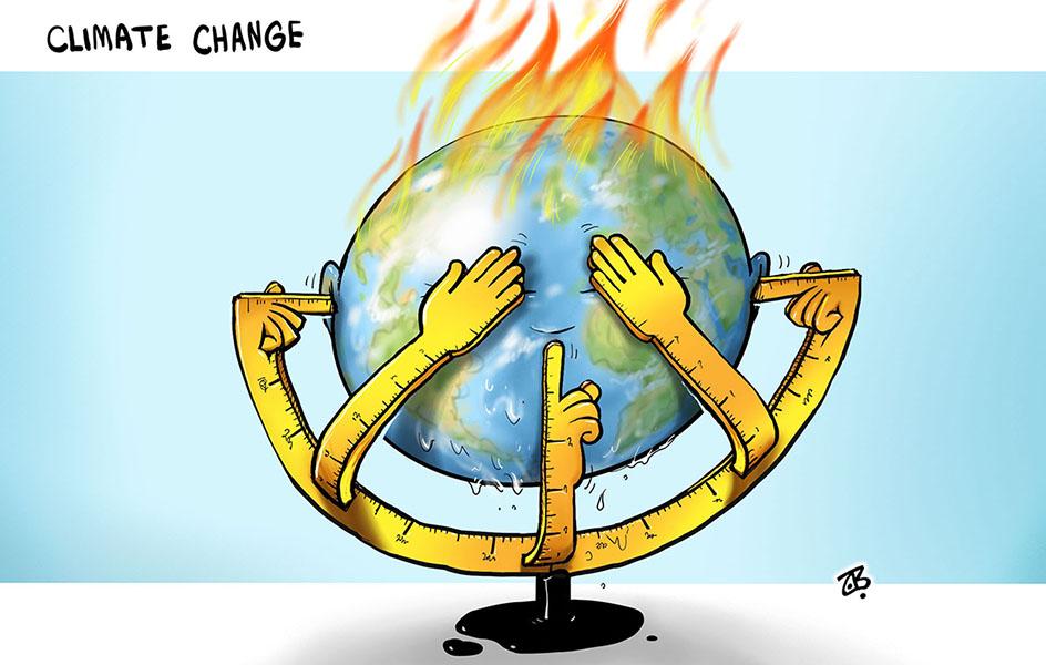 Changement Climatique – Par Emad Hajjaj (Jordanie)