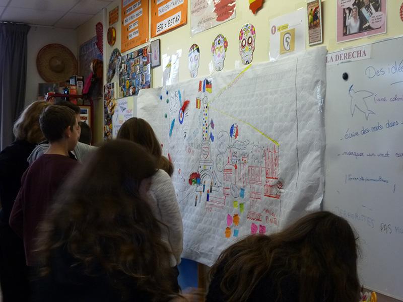 16 novembre – Elèves de 4ème du College Germaine Tillion (Lardy)