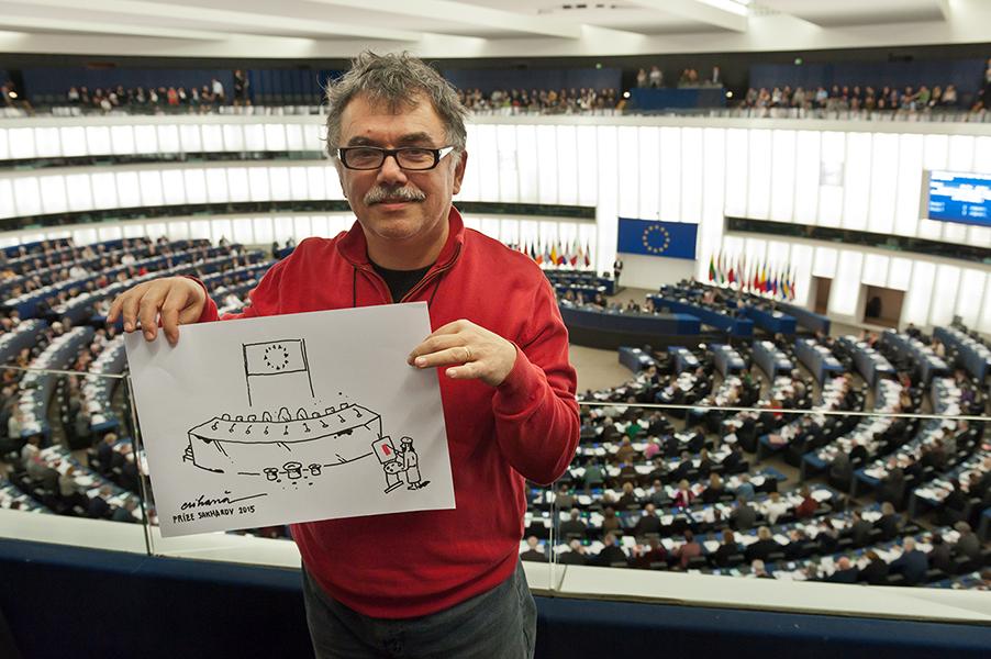 Cartoonist Crihana (Roumania) – European Parliament