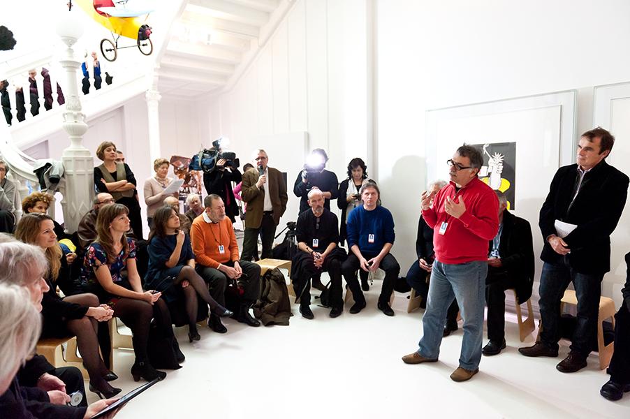 Conférence de presse au Musée Tomi Ungerer – 16 décembre