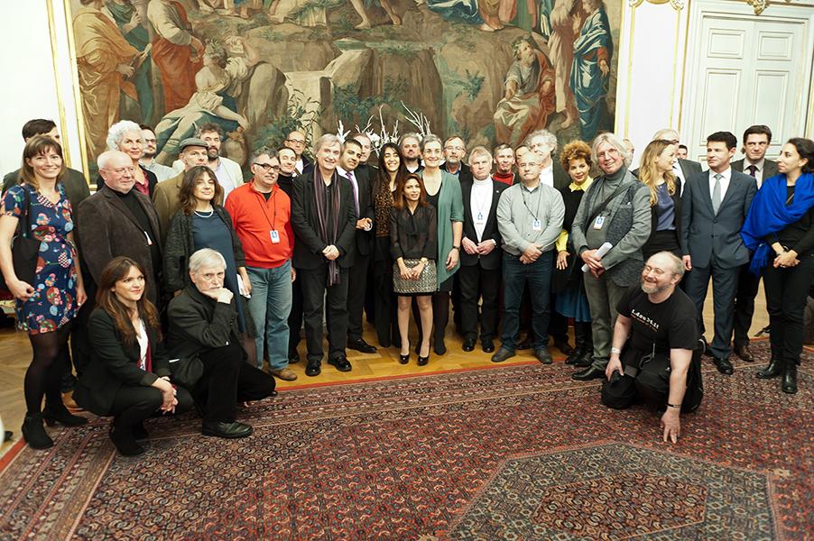 Cérémonie à l'Hôtel de Ville de Strasbourg – 16 décembre