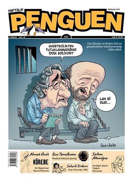 Penguen's cover ( satirical weekly magazine)