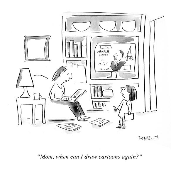 Liza Donelly (États-Unis) – publié dans The New Yorker