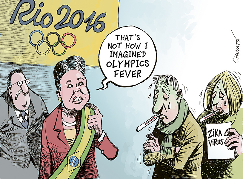 Chappatte (Switzerland), published in Le Temps
