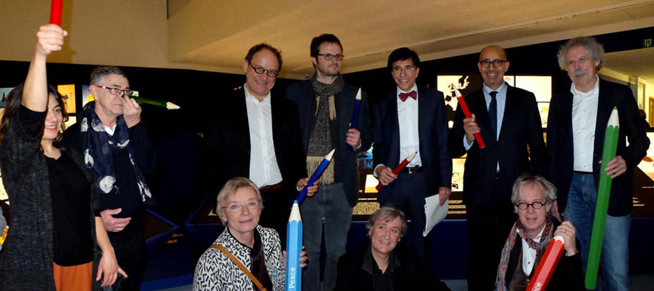 Inauguration de l'exposition, le 20.02.2016