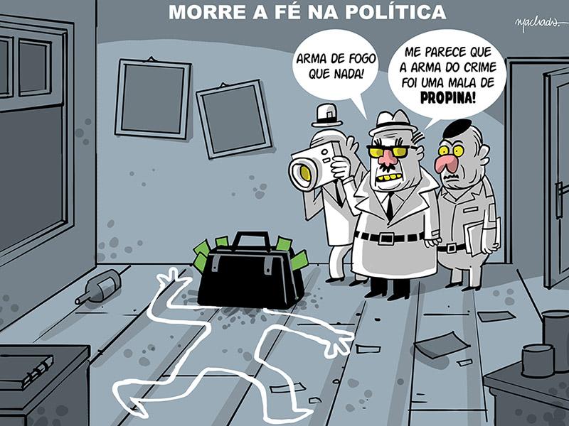 Machado (Brésil), publié dans Extra le 3 mai 2015