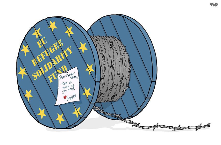 Tjeerd Royaards (Pays-Bas), paru sur Cartoon Movement et Hollandse Hoogte
