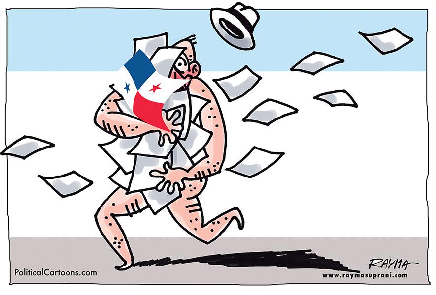 Rayma (Venezuela), paru sur PoliticalCartoons.com
