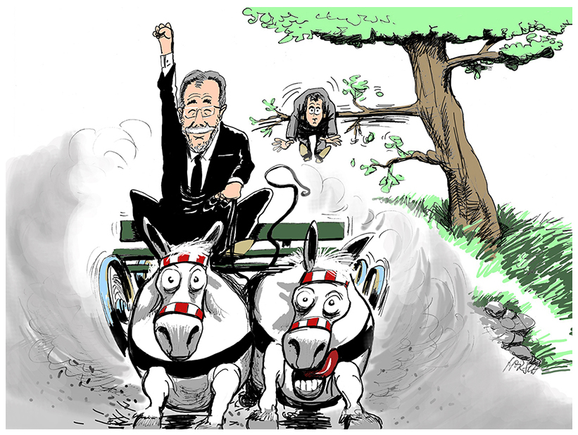 Horsch (Germany), published in Courrier international