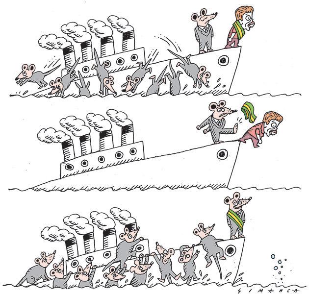 Simanca (Brésil), paru sur CagleCartoons