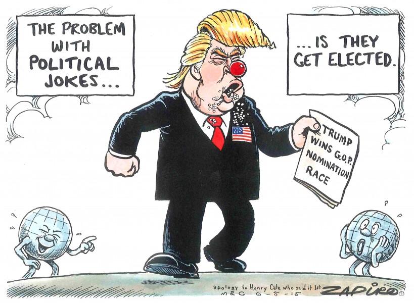 Zapiro (Afrique du Sud), publié dans Mail & Guardian