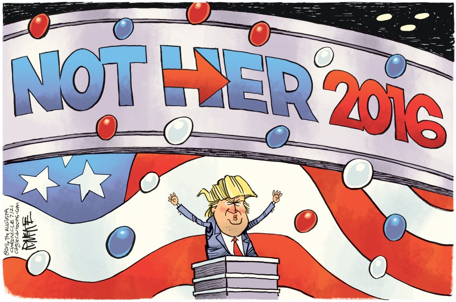 Rick McKee (USA), published in Caglecartoons