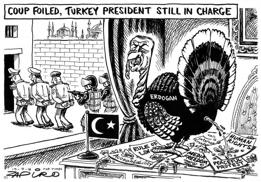 Zapiro (Afrique du Sud), publié dans The Times