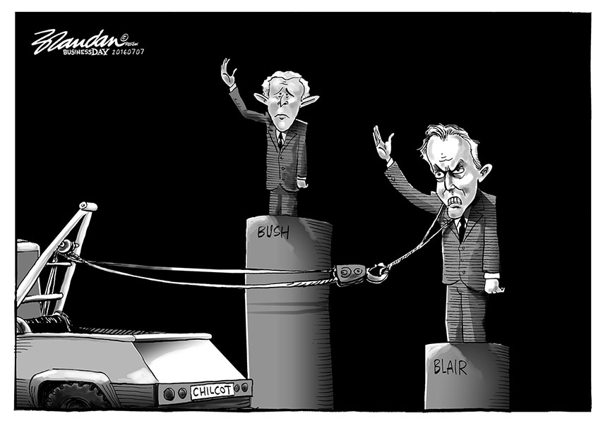 Brandan (South Africa), published in the Business Day