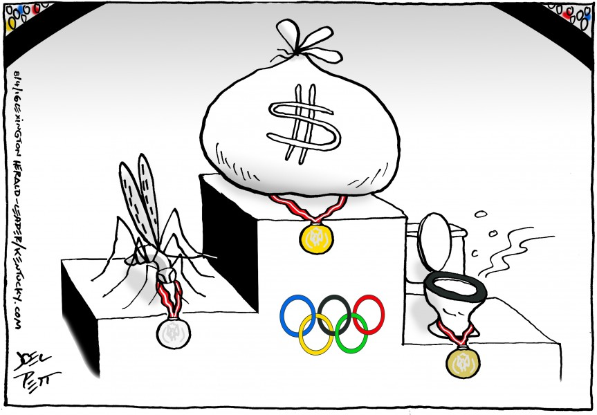 Joel Pett (United States), published in Lexington Herald Leader