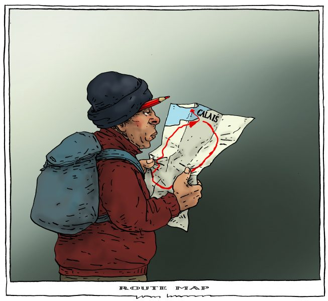 Joep Bertrams (Netherlands), published in Caglecartoons