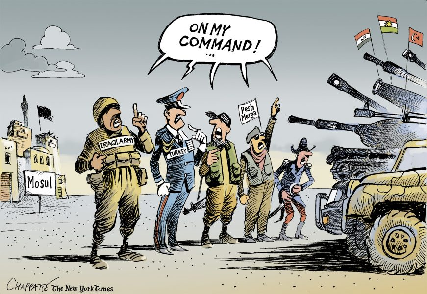 Chappatte (Switzerland), published in The New York Times