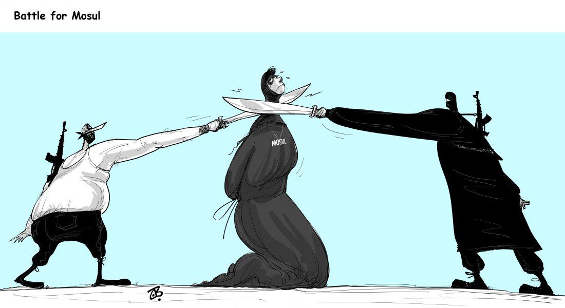 Emad Hajjaj (Jordan), published in Caglecartoons