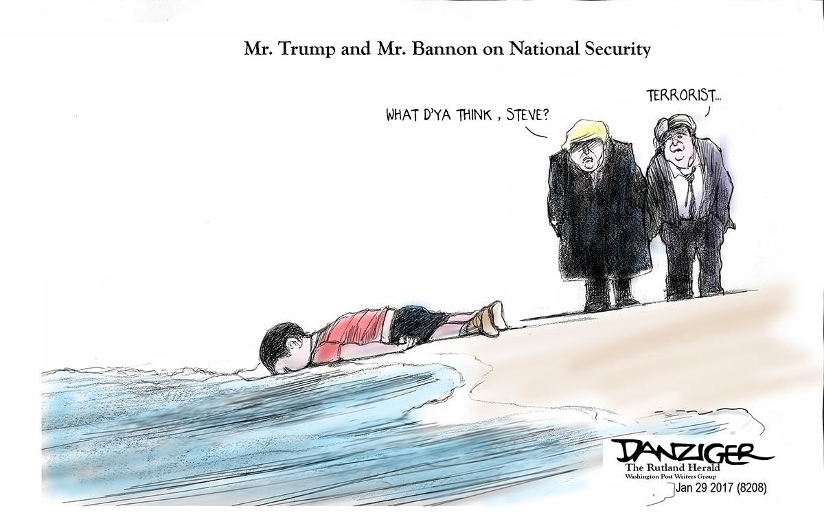 Danziger (Etats-Unis/USA), The Rutland Herald