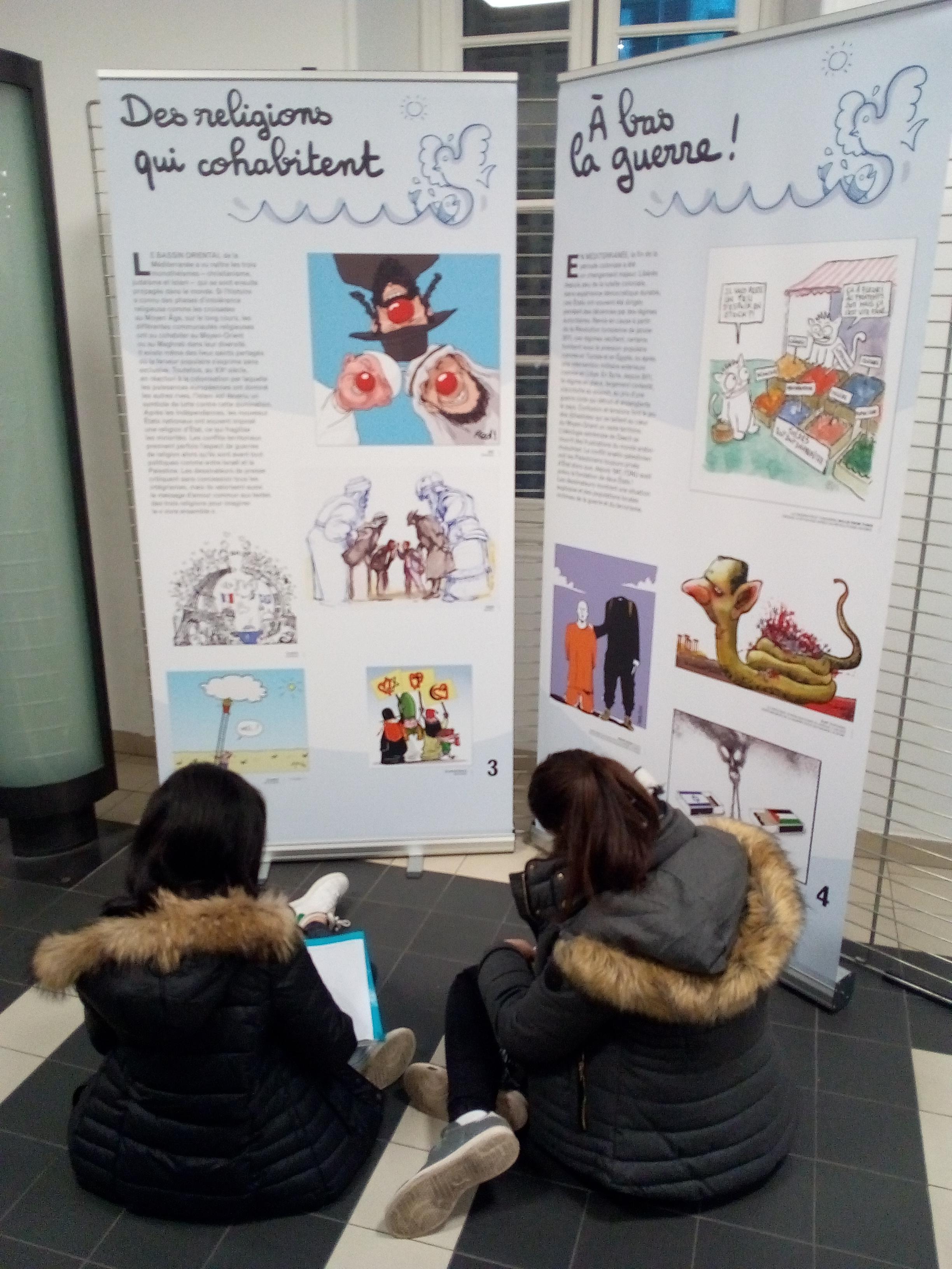 Atelier pédagogique et exposition Cartooning for Peace1