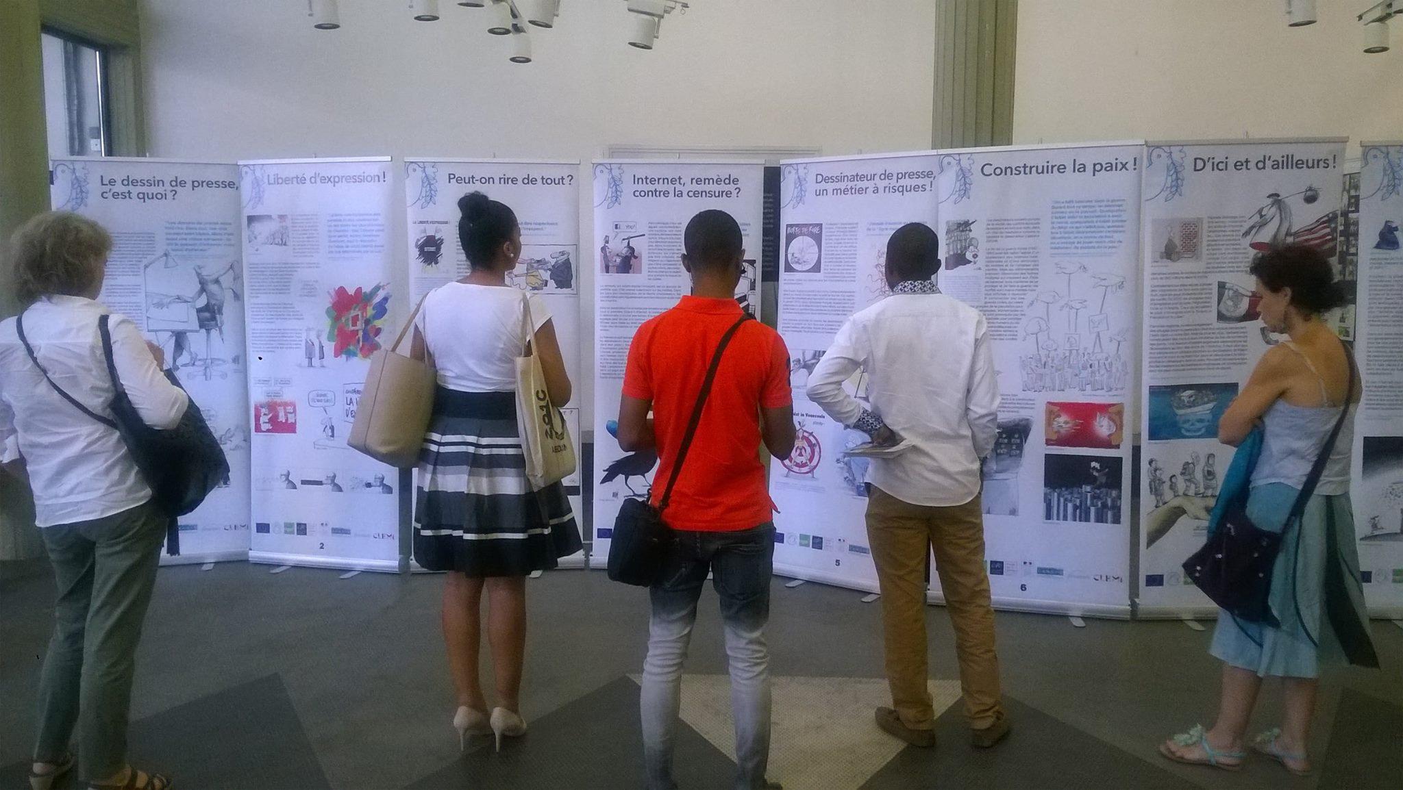 Inauguration de l'exposition