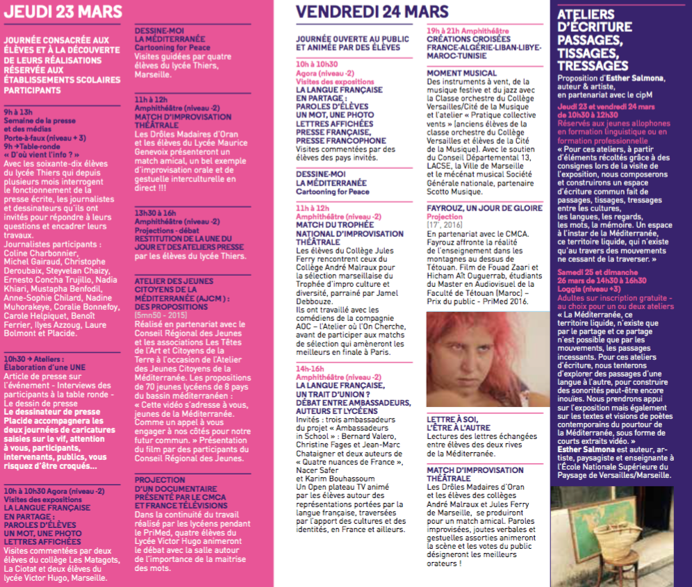 Programme page 3