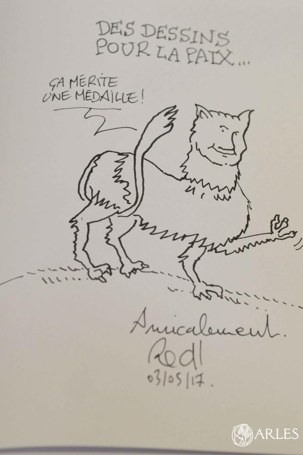 Dessin du dessinateur Red! © Romain Boutillier