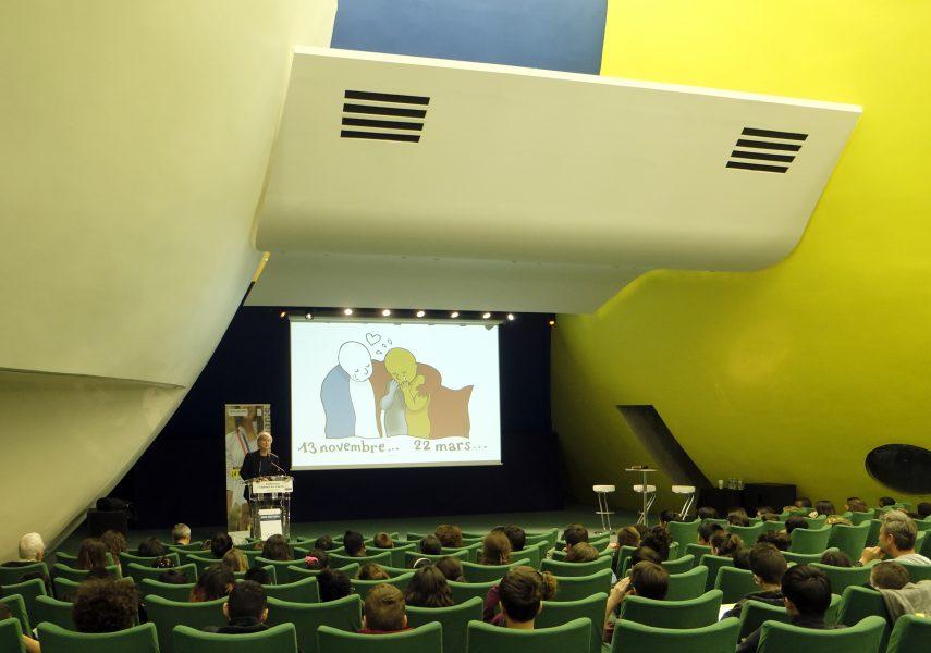 Conférence de Plantu à Bobigny