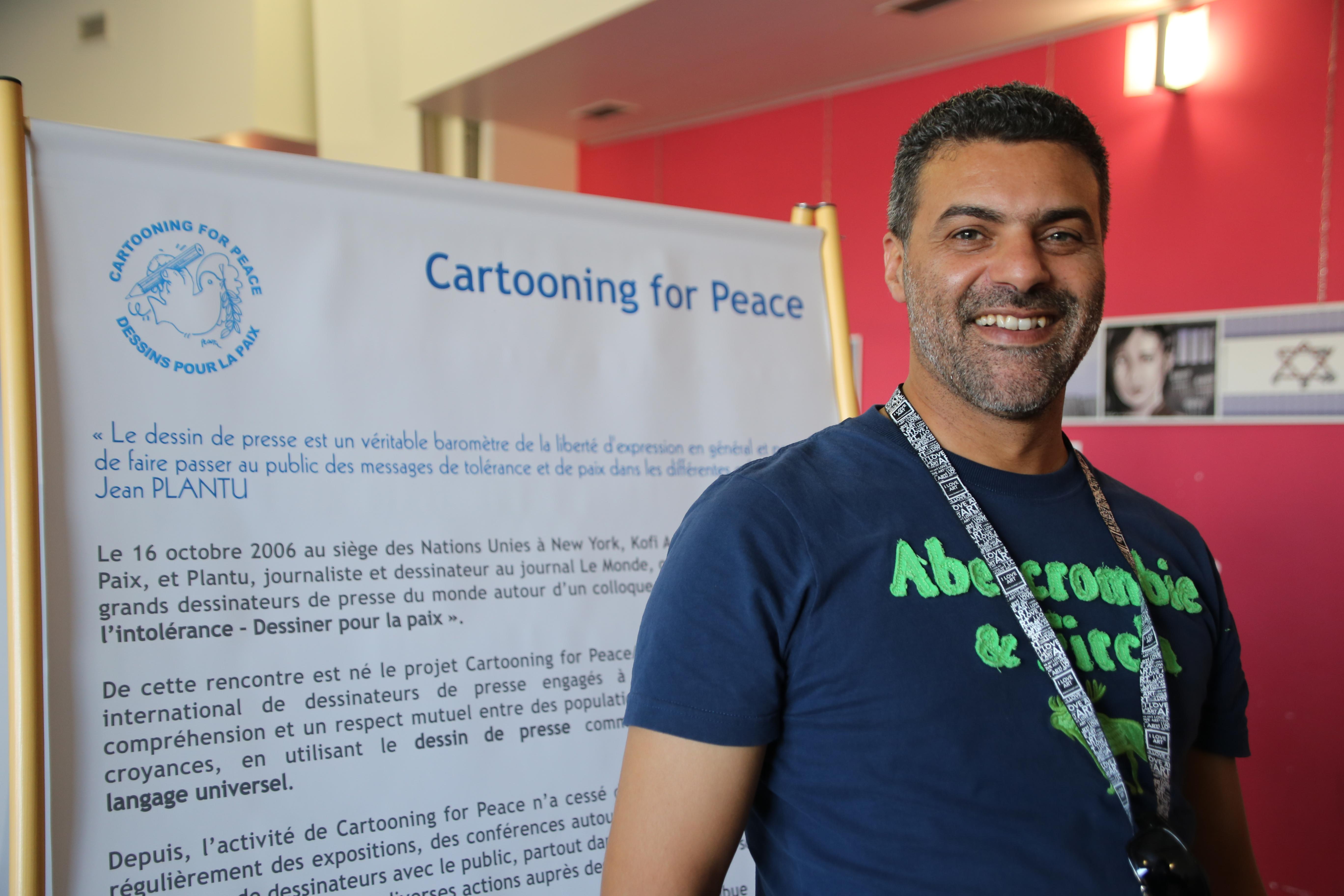 «Décoder les étoiles» au festival FIDEP de l'Estaque, avec le dessinateur Khalid Gueddar