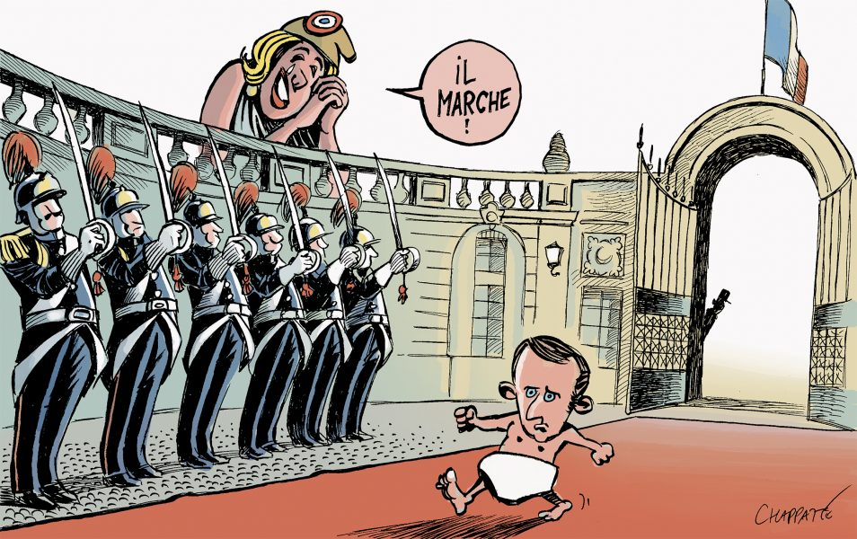 Chappatte (Suisse / Switzerland), Le Temps