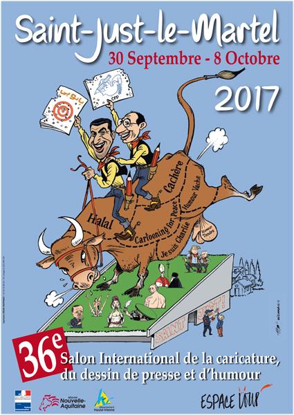 Affiche par Kichka (Israël) et Khalid Gueddar (Maroc)