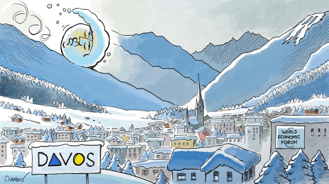 Chappatte (Suisse / Switzerland), Le Temps