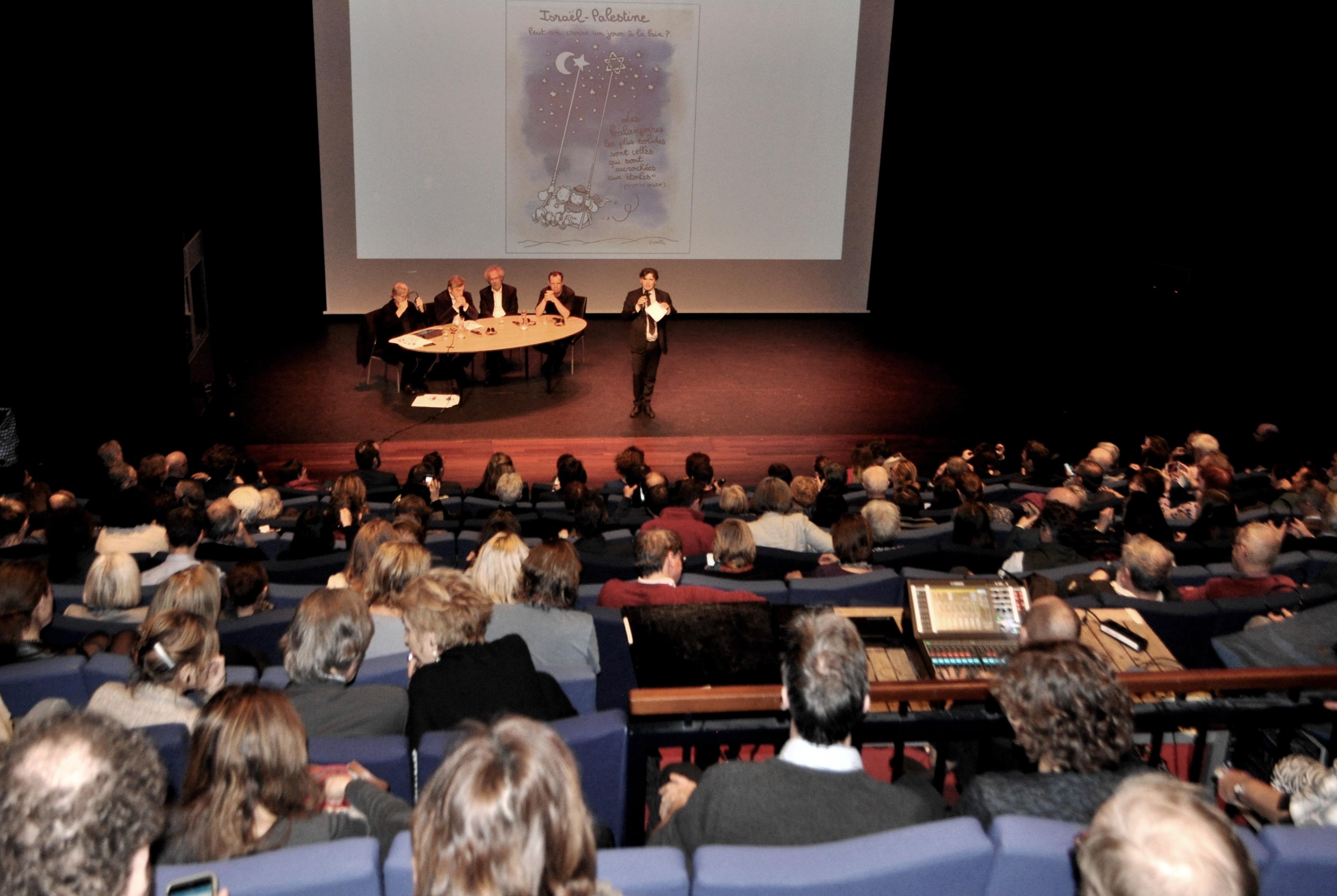Conférence à l'OBA
