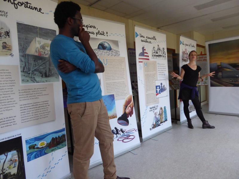 «Tous Migrants !» présentée par Camille Besse et Adjim Danngar