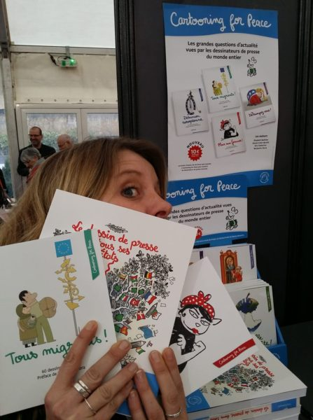 Cami et la collection Cartooning for Peace