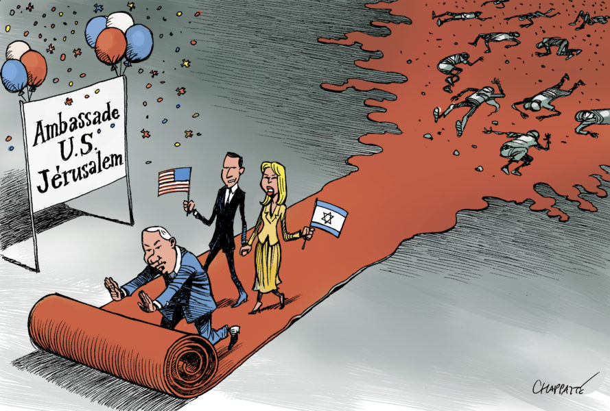 Chappatte (Suisse – Switzerland), Le Temps