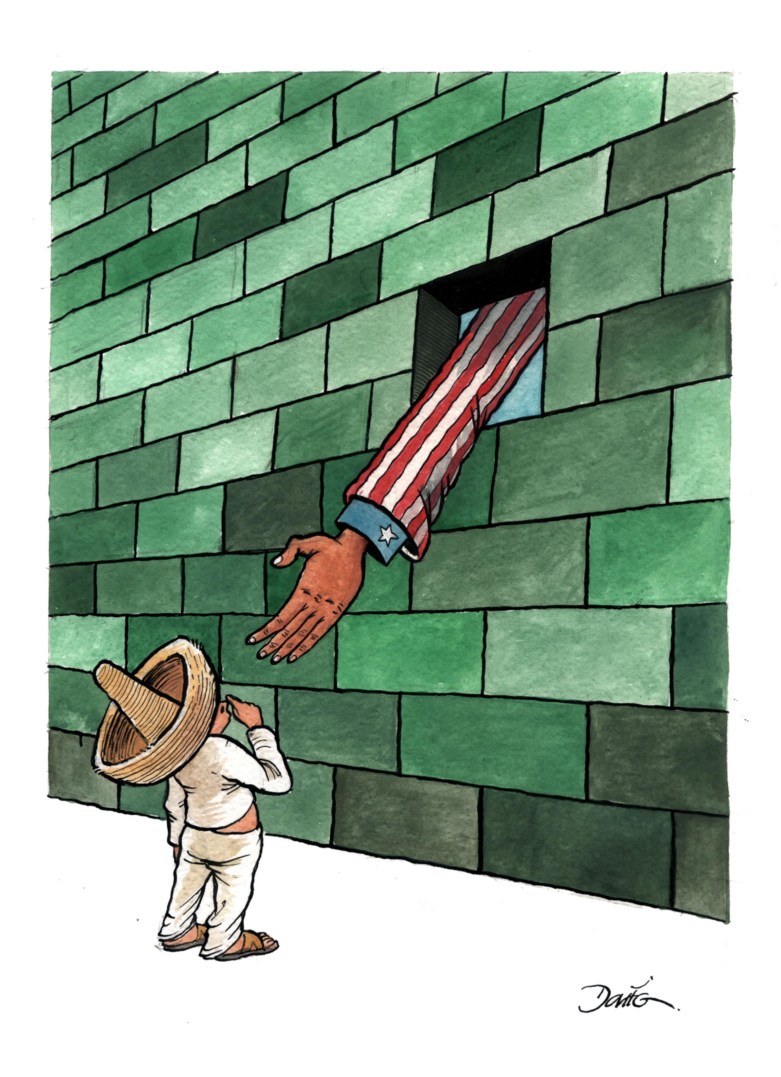 DARIO (Mexique) © Cartooning for Peace
