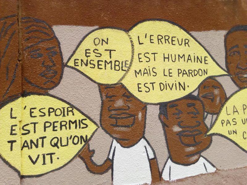 fresque prison de Koudougou