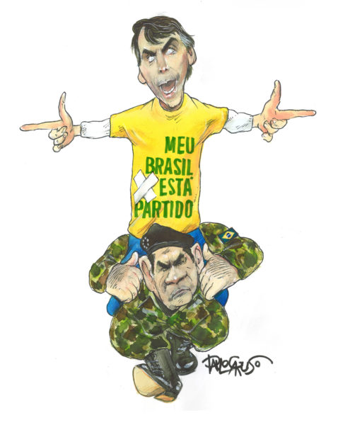 PAULO CARUSO (Brésil / Brazil), O Globo