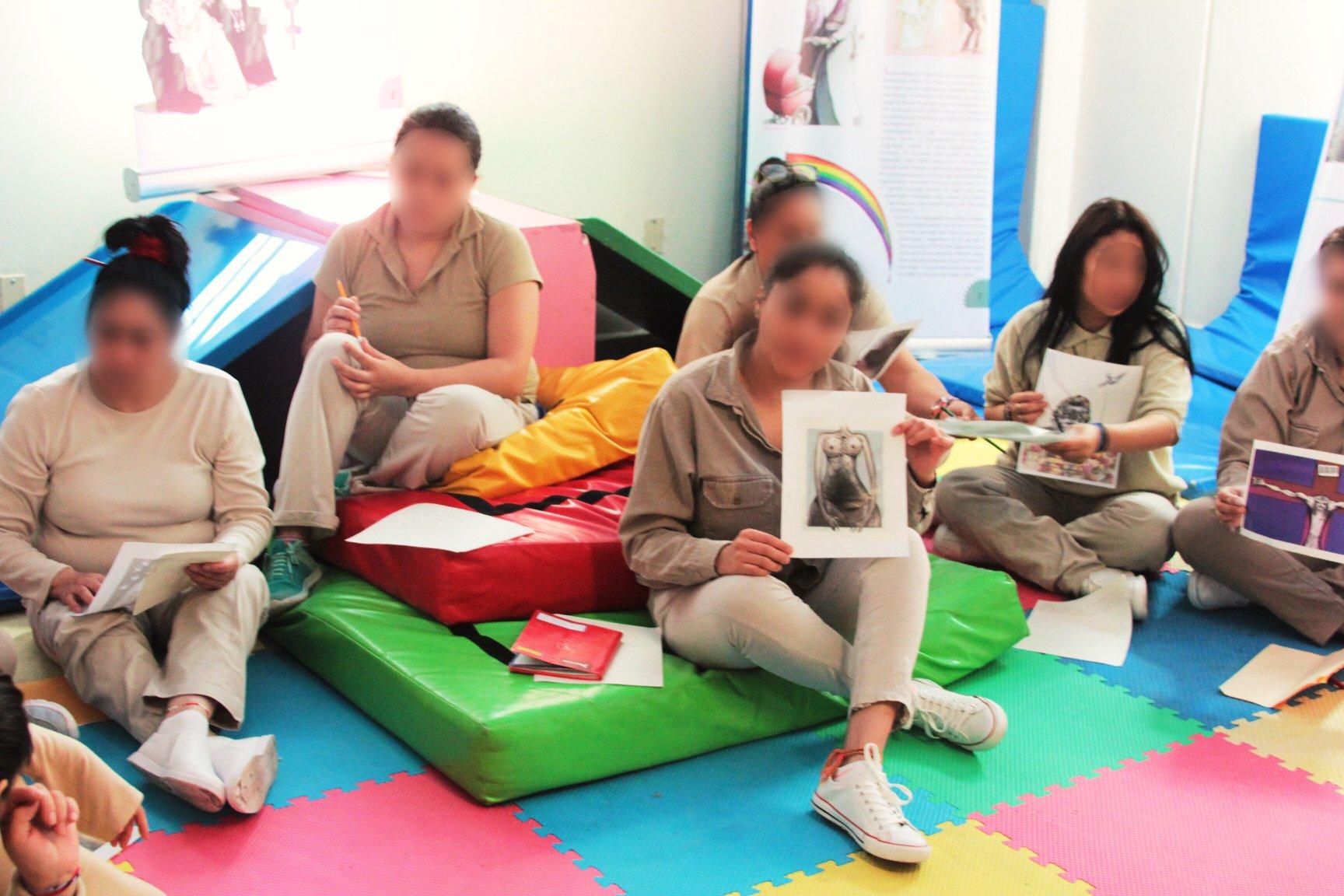 Workshop in prison