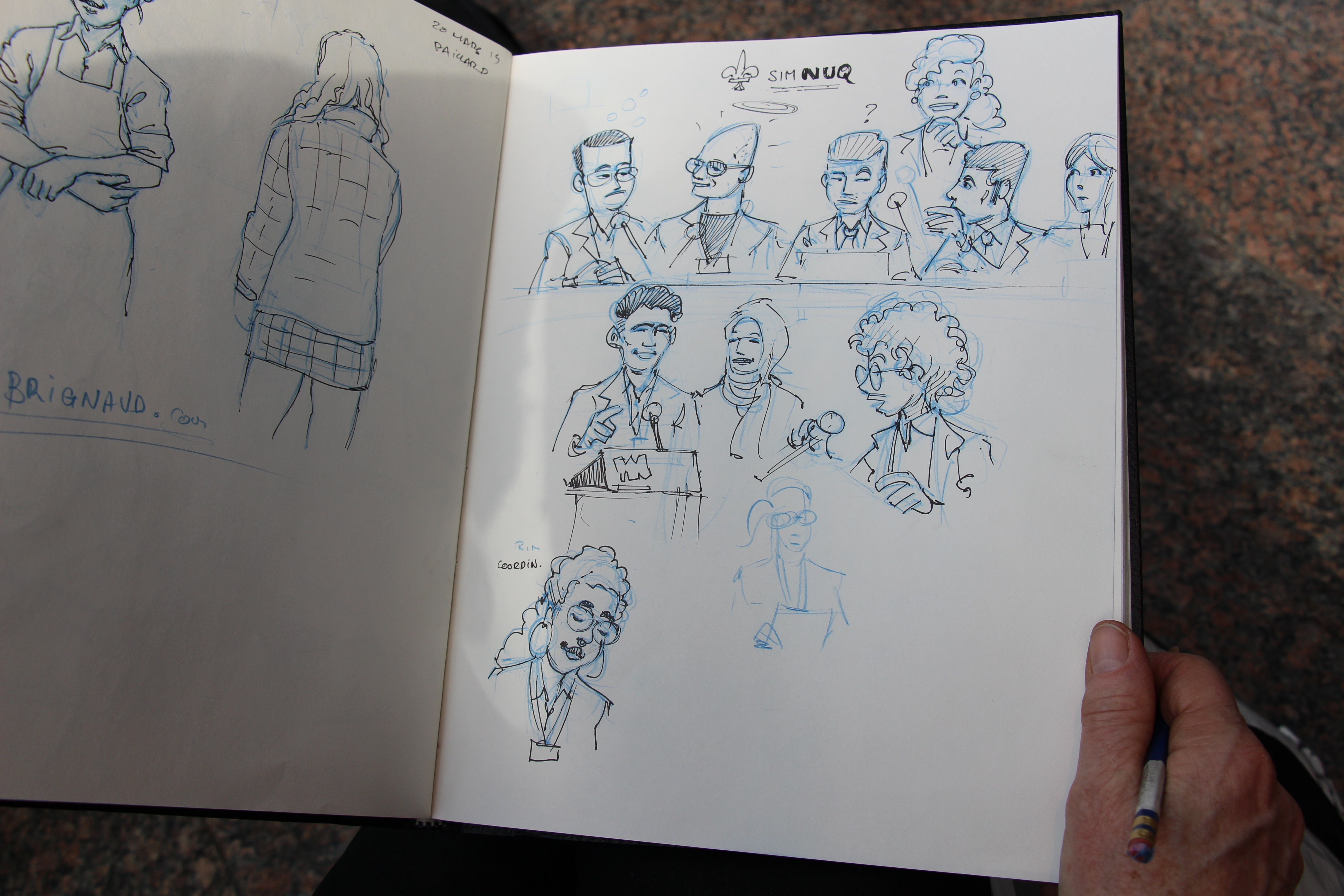 Live Drawing